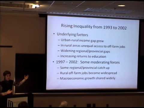 Inequality in China: Challenges to a Harmonious Society
