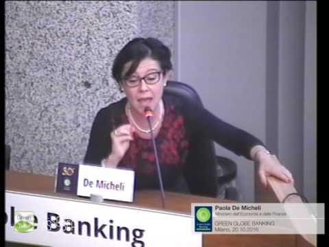 X Edizione Green Globe Banking - Paola De Micheli