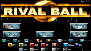 Rival Ball gameplay (PC Game, 2001)