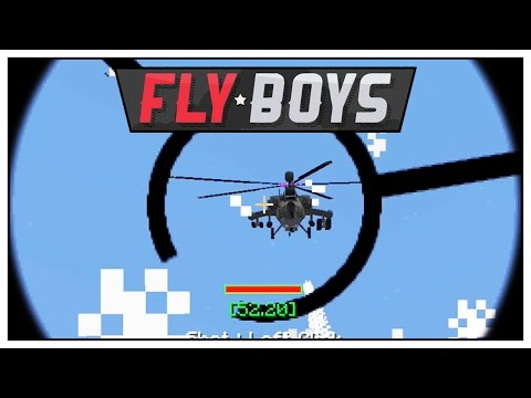 Minecraft Warfare - PHASE 3 BATTLE - Minecraft Mods FlyBoys War Server - E74 | Pungence