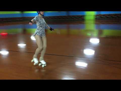 Artistic Roller Skating American Paso Doble Practice