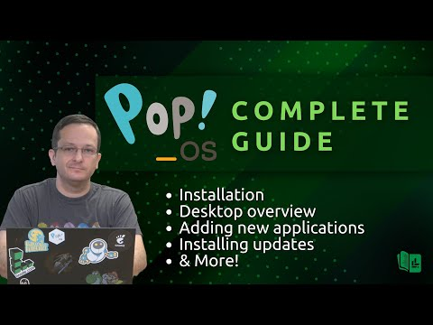 Pop!_OS Complete Beginners Guide (Full Course in one video!)
