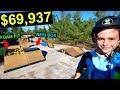 10 YEAR OLD KID BUYS WORLDS BEST BACKYARD SKATEPARK!
