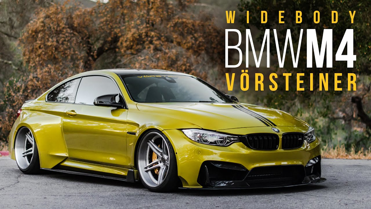Vorsteiner Widebody BMW M4 | Equipped with AccuAir - YouTube