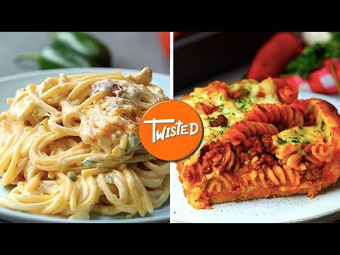 Top 10 Twisted Pasta Recipes Of 2018 | Weeknight Dinners | Creamy Pasta Recipes | Twisted