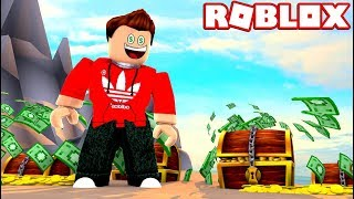Sono RICH!! TREASURE HUNT SIMULATOR IN ROBLOX!
