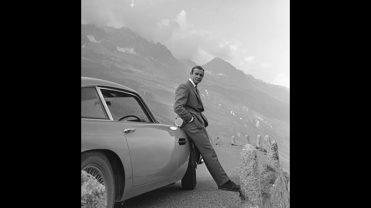 Aston Martin Db5 Wallpaper: Bond Car Chase Through Furka Pass In