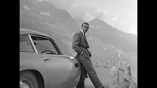 GOLDFINGER - Bond Car Chase Through Furka Pass in Switzerland