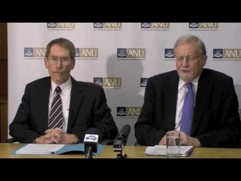 New ANU Vice-Chancellor Professor Ian Young - media conference, 1 Oct 2010