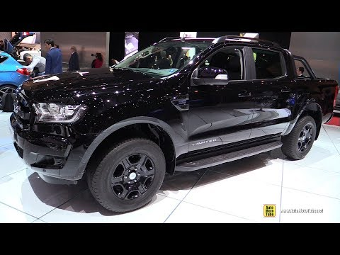 2018 Ford Ranger Limited Black Edition - Exterior and Interior Walkaround - 2018 Geneva Motor Show