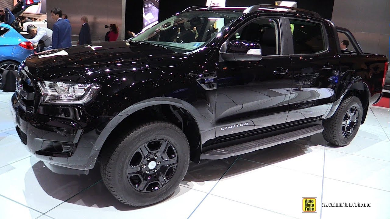 Ford Ranger 150 >> 2018 Ford Ranger Limited Black Edition - Exterior and Interior Walkaround - 2018 Geneva Motor ...