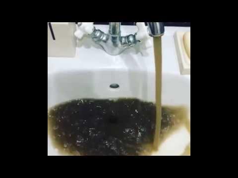 грязная вода в Каспийске сегодня 23 04 2017 Dirty water in Kaspiysk