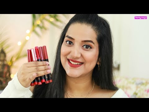 Faces Ultime Pro HD Lipstick Swatches & Review | Perkymegs