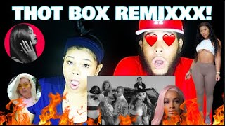Hitmaka - Thot Box (Remix) (feat. Young MA, Dreezy, DreamDoll, Mulatto, Chinese Kitty) Reaction!