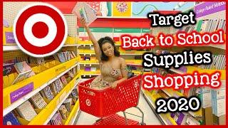 Target Back to School Supplies Shopping Vlog 2020