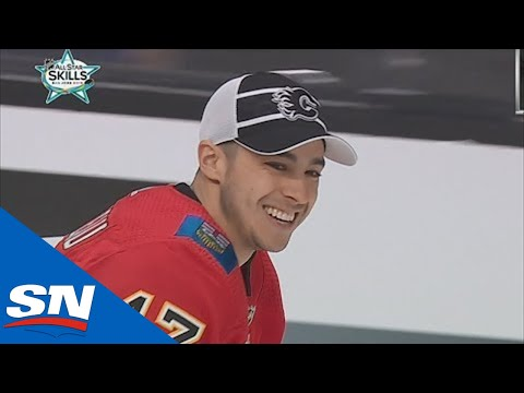 2019 NHL All-Star Skills Competition: Puck Control Relay