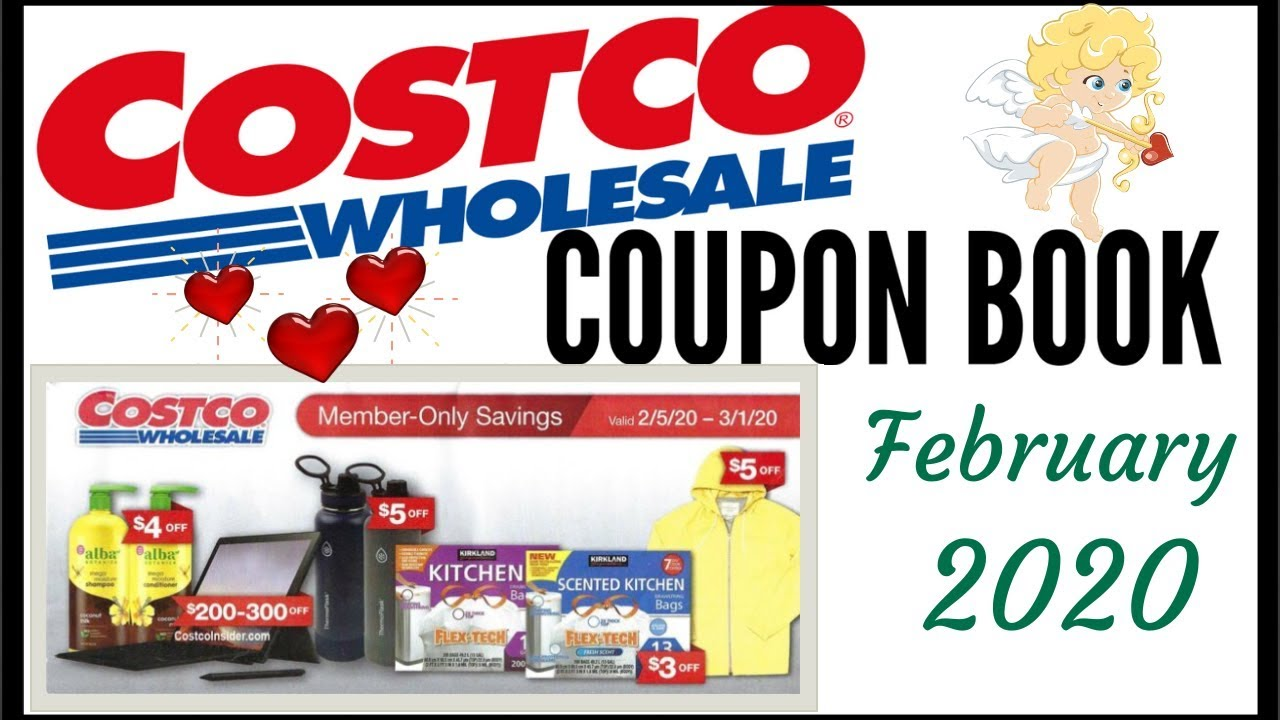 February 2020 Costco Coupon Book Member Only Savings Deals Preview 2020 2 5 20 3 1 20 Youtube