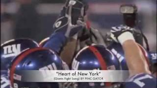 Pinc Gator-  Heart of New York Giants Theme Song Prod by Beanz N Kornbread on Itunes
