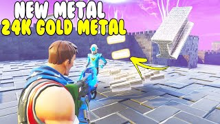 NEW 24k Golden Metal! 😱 (Scammer Gets Scammed) Fortnite Save The World