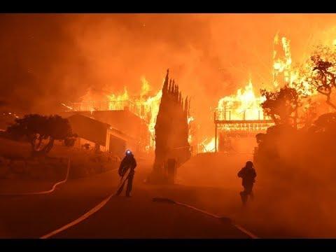 BREAKING NEWS:   California WildFire Run Rampant!