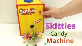 How to Make Skittles Candy Machine