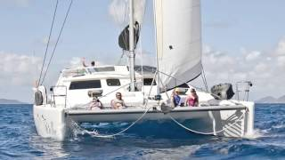 Better Caribbean Sailing Vacations - Catamarans Are for Fun
