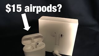$15 Fake Airpods -How Bad Can They Be?