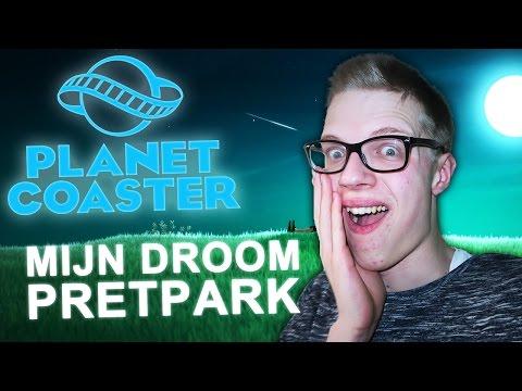 MIJN DROOM PRETPARK! - Planet Coaster #1