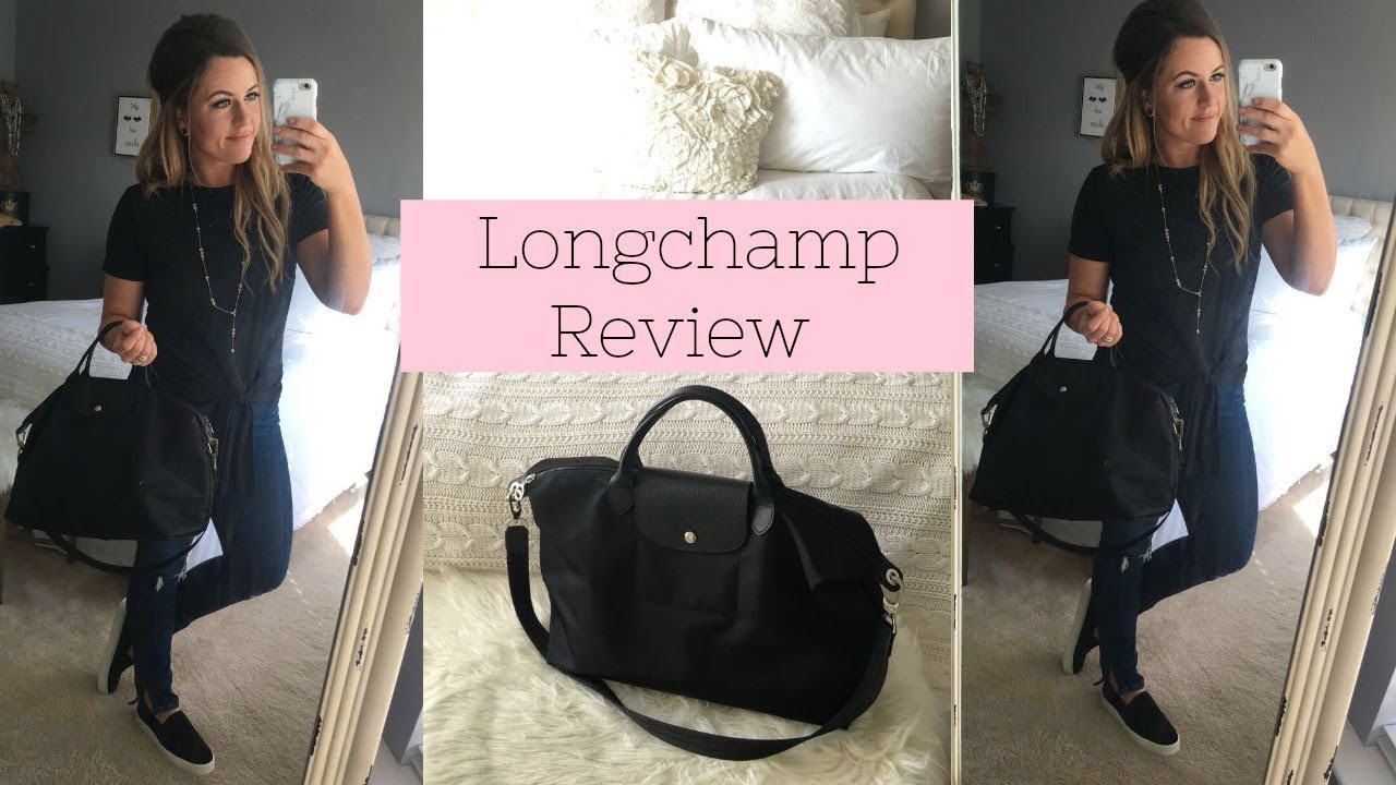 BEST TOTE EVER! | LONGCHAMP MEDIUM LE PLIAGE NEO