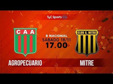 Primera B Nacional: Agropecuario vs. Mitre | #BNacionalenTyC