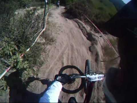 2010 Sea Otter downhill course- hardtail