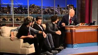 One Direction - David Letterman show 12/07/2012 (interview+little things)
