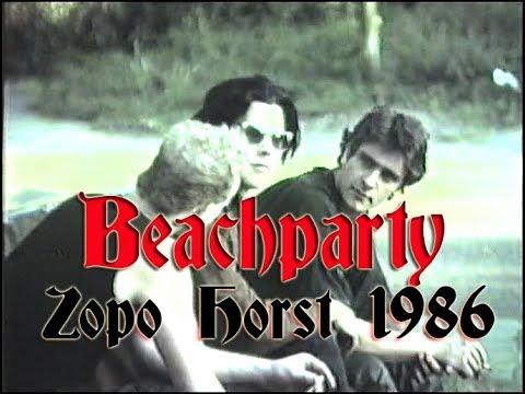 Beachparty Zomer 1986  ZOPO Horst Netherlands
