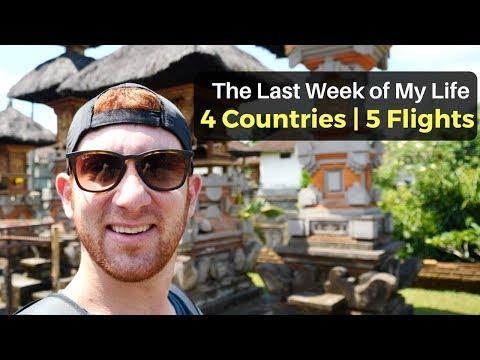 The Last Week of My Life: 4 Countries, 5 Flights, 20K Kilometers