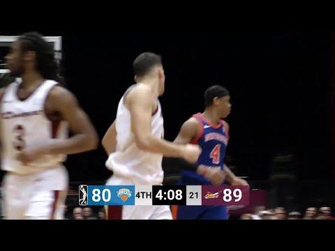Ante Zizic (21 points) Highlights vs. Westchester Knicks