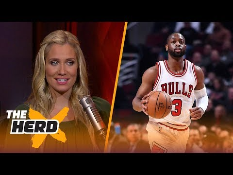 Dwyane Wade says Bulls misled him about direction of team - Kristine and Colin react   THE HERD