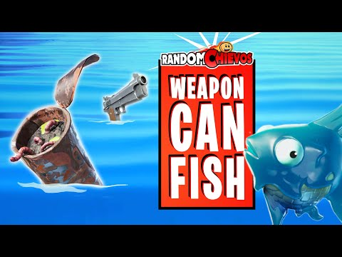 How To Catch A Weapon, A Can, And A Fish (Fortnite)