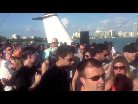 BEDROCK SUNSET CRUISE w/JOHN DIGWEED, NICK WARREN, JOZIF, DENIS A. MIAMI WMC'12
