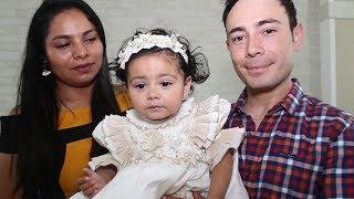 Bautizan a la pequeña Itzel Alexandra
