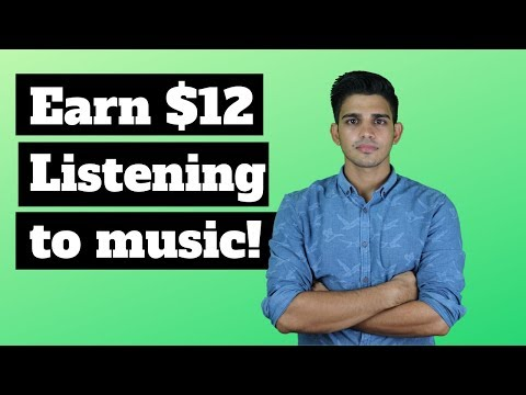 Earn money listening to music || Earn money online in India 2019 [Hindi]