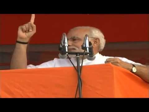 PM Modi's public address at Aurangabad, Maharashtra
