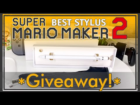 Best Stylus for Mario Maker 2 - Nintendo Switch - Giveaway - Unboxing - Review - iPad iPhone Stylus