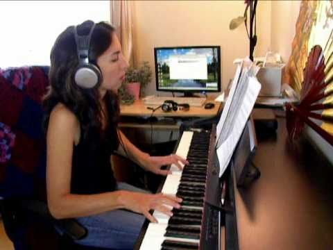 """""""Blood Theme"""" from """"Dexter"""" played on piano + SHEET MUSIC"""