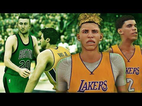 NBA 2K17 MyCAREER LaMelo Ball #8 - Lonzo Ball Joins The Team!! G.Hayward Boston Debut!