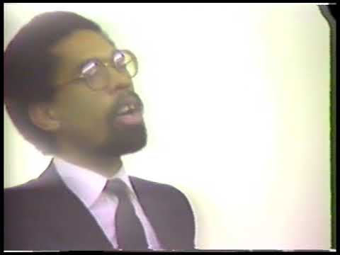 Cornel West (March 28, 1988) Part 2 of 2