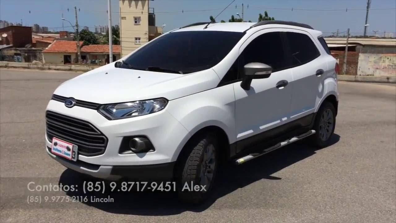 Ford Ecosport Freestyle 1 6 16v Flex 2014 Youtube