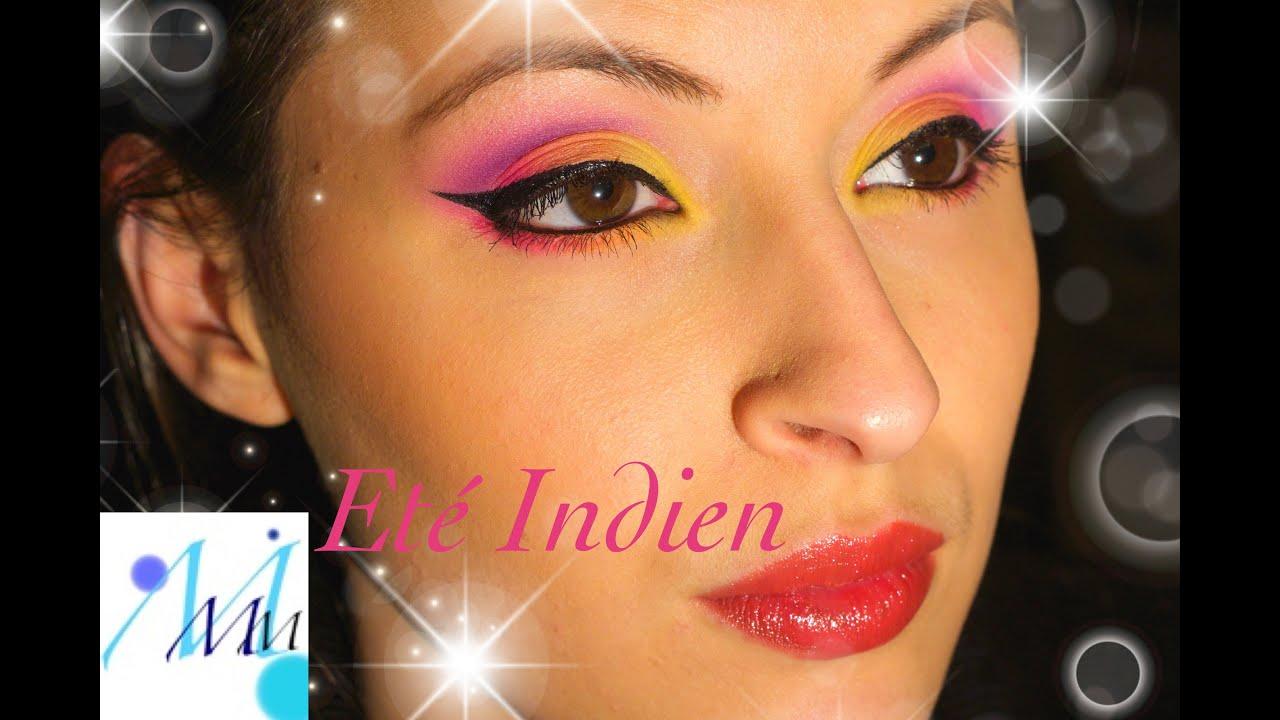 color makeupmaquillage color et indienindian summer - Colori Maquillage