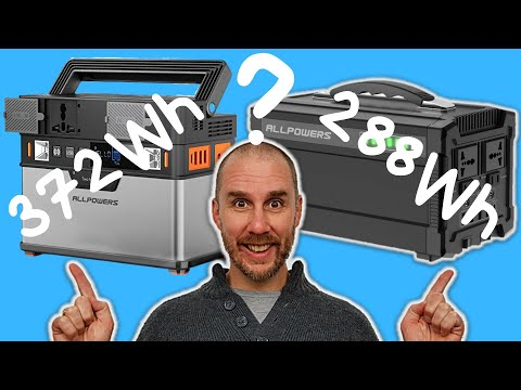 288Wh Or 372Wh | Which ALLPOWERS Solar Generator Is Best For You?