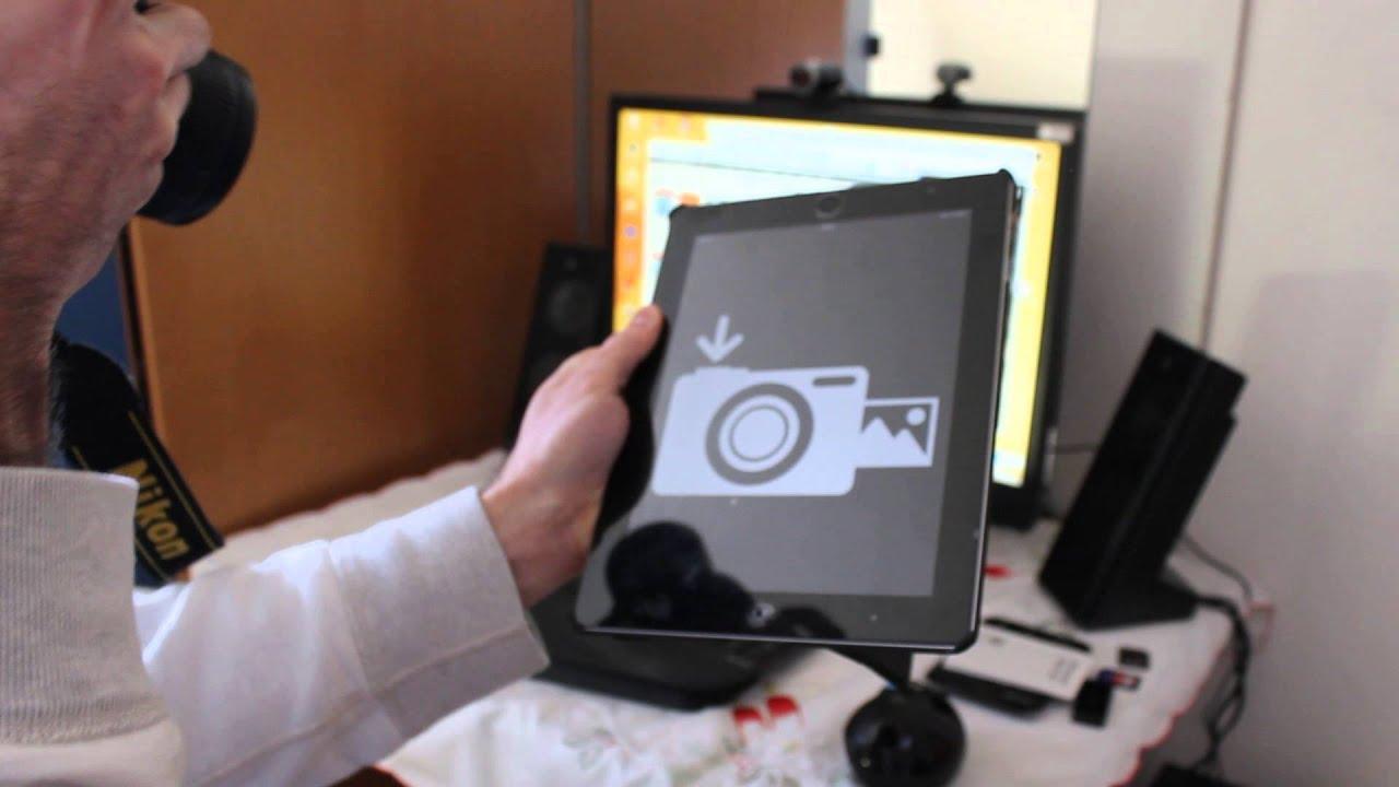 Transcend Wi-Fi SD mit Nikon D7000 und iPad