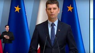 Konferencja premiera Morawieckiego i minister sportu
